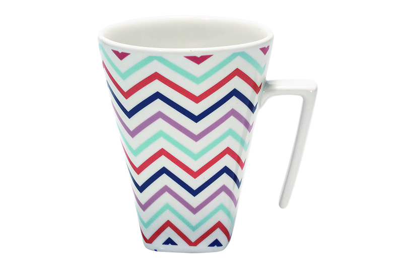 Estilo Chevron Caneca Oxford Daily