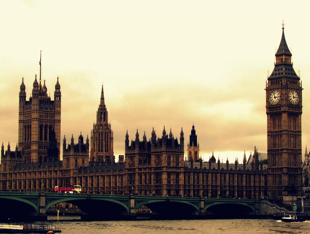 O famoso Big Ben, um dos principais pontos turísticos de Londres. Foto: Equipe Oxford.