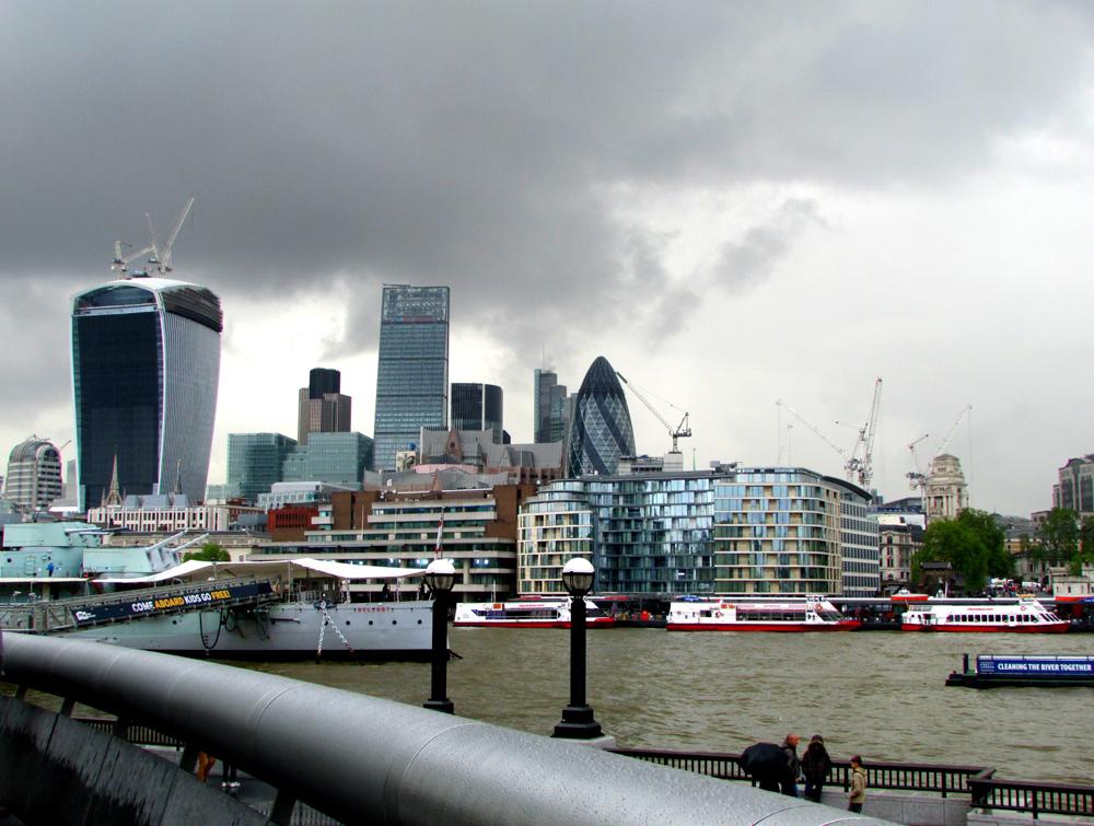 E do outro, City of London. Foto: Equipe Oxford.