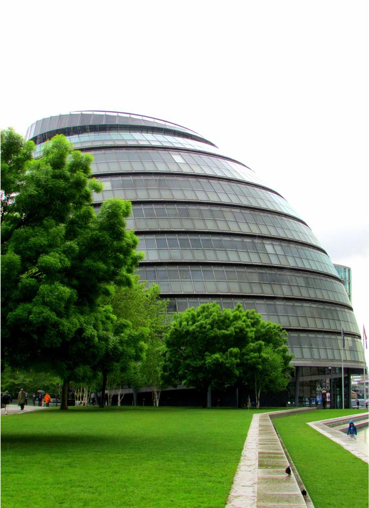 Prédio da prefeitura da cidade, localizado na região de City of London. Foto: Equipe Oxford.