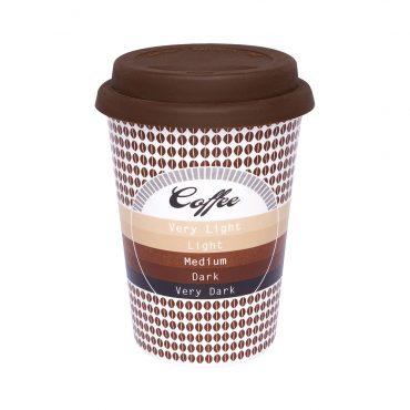 Copo Trip Café com tampa de silicone