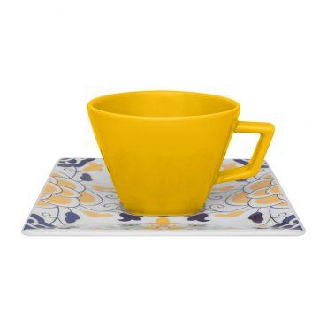 Xícara de Chá com Pires Quartier Sevilha