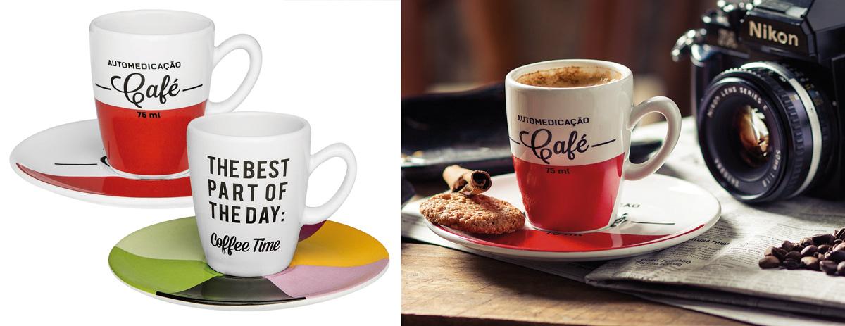 Agora você decide se prefere se automedicar com café, ou que a hora do café é a melhor parte do seu dia.