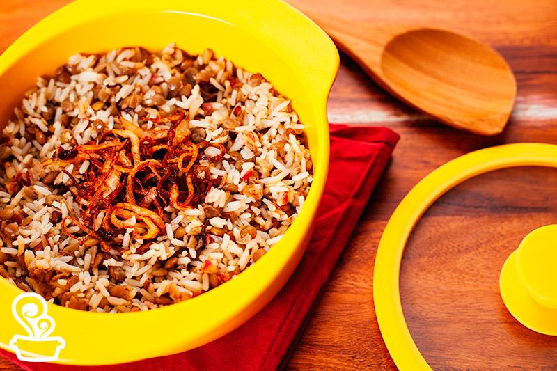 Esta receita é mega fácil de fazer! Você só vai precisar de atenção no ponto da lentilha.