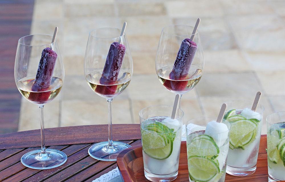 Imagem: Taça Chardonnay e Copo Caldereta da Oxford Crystal. Foto: Equipe Oxford.
