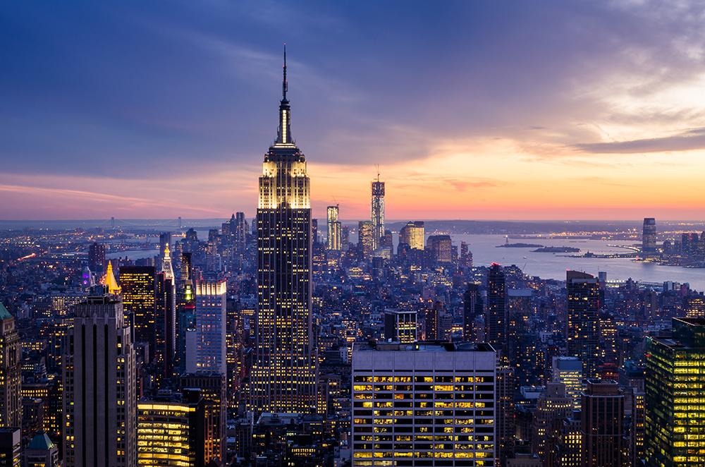 Empire State Building, um dos prédios mais famosos de Nova Iorque. Foto: Shutterstock.