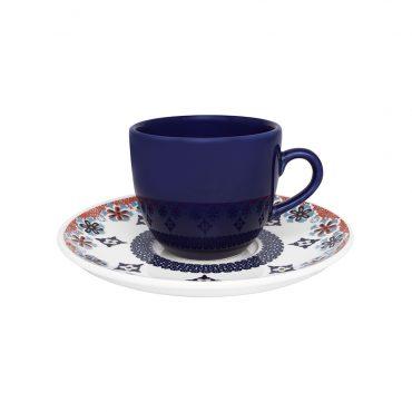 Xícara de Chá com Pires Coup Shanti
