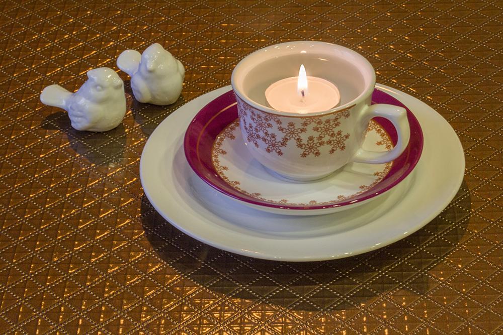 Xícara de café Flamingo Dama de Honra
