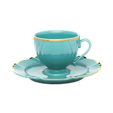 Xícara de Chá com Pires Soleil Dreams