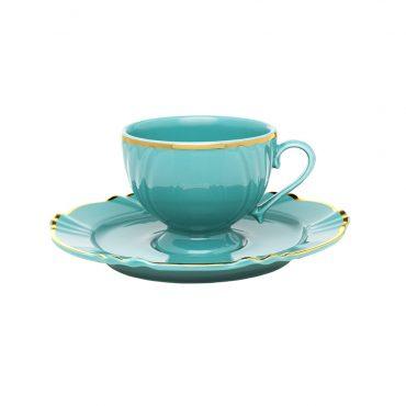 Xícara de Café com Pires Soleil Aurora