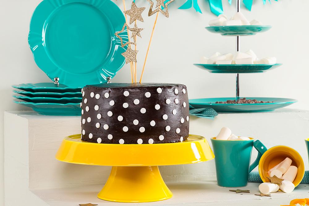Imagem: Uma peça linda para você servir bolos...