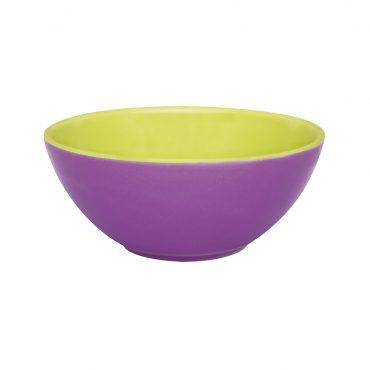 Tigela Bicolor Violeta/Verde
