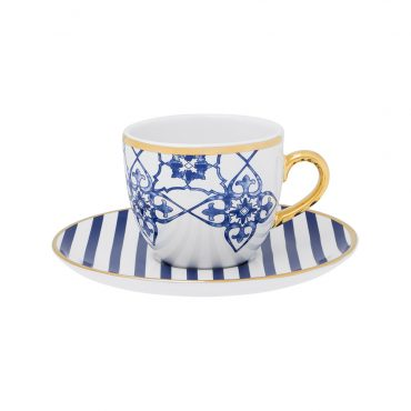 Xícara de Chá com Pires Coup Lusitana