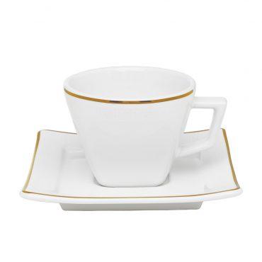 Xícara de Chá com Pires Nara Rendado