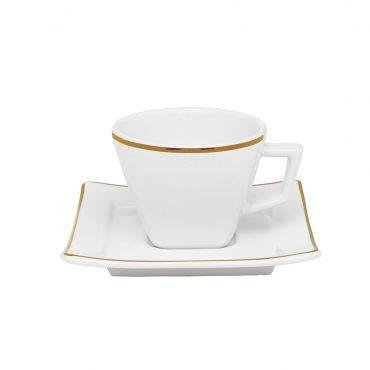 Xícara de Café com Pires Nara Rendado