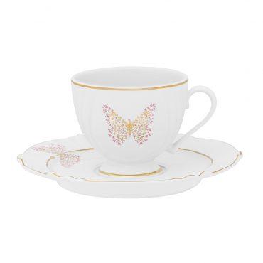 Xícara de Chá com Pires Soleil Encantada