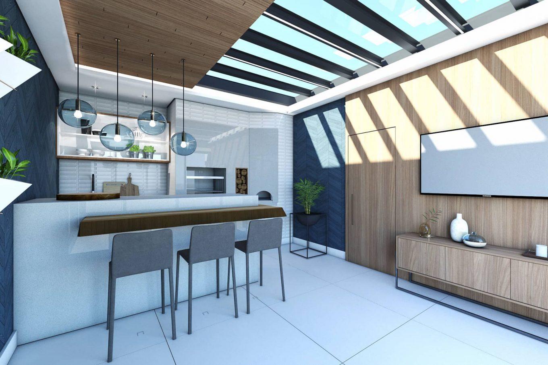 Imagem: Ambiente residencial criado por Beatriz Coppola. Foto: Divulgação