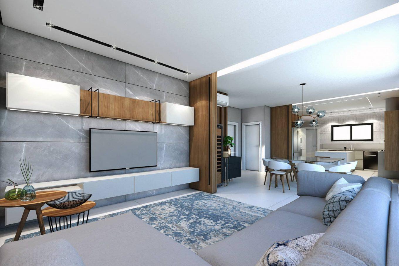 Imagem: Projeto residencial feito pela arquiteta.