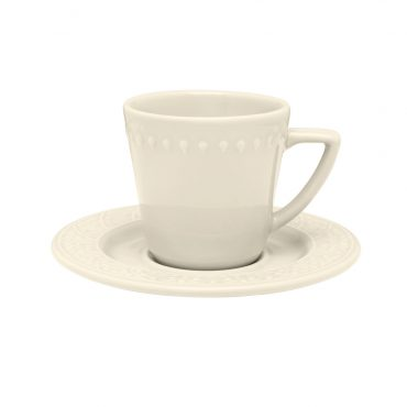 Xícara de Chá Mendi Marfim