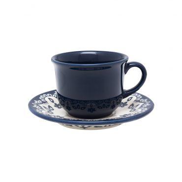 Xícara de Chá com Pires Floreal Energy