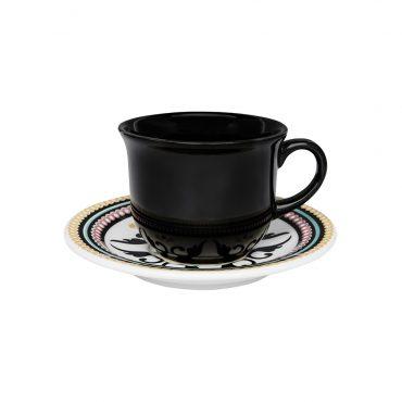 Xícara de Chá com Pires Floreal Luiza