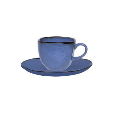 Xícara de Café com Pires Ryo Santorini