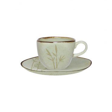 Xícara de Café com Pires Ryo Bambu