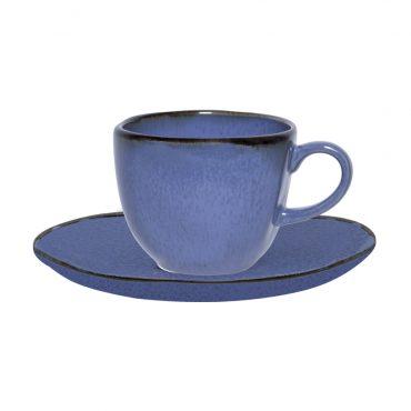 Xícara de Chá com Pires Ryo Santorini
