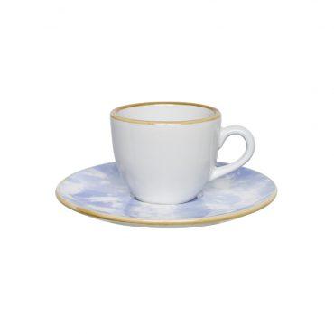 Xícara de Café com Pires Coup Celeste