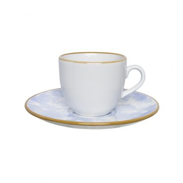 Xícara de Chá com Pires Coup Celeste