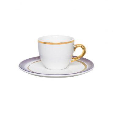 Xícara de Café com Pires Coup Glam
