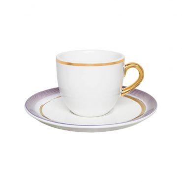 Xícara de Chá com Pires Coup Glam