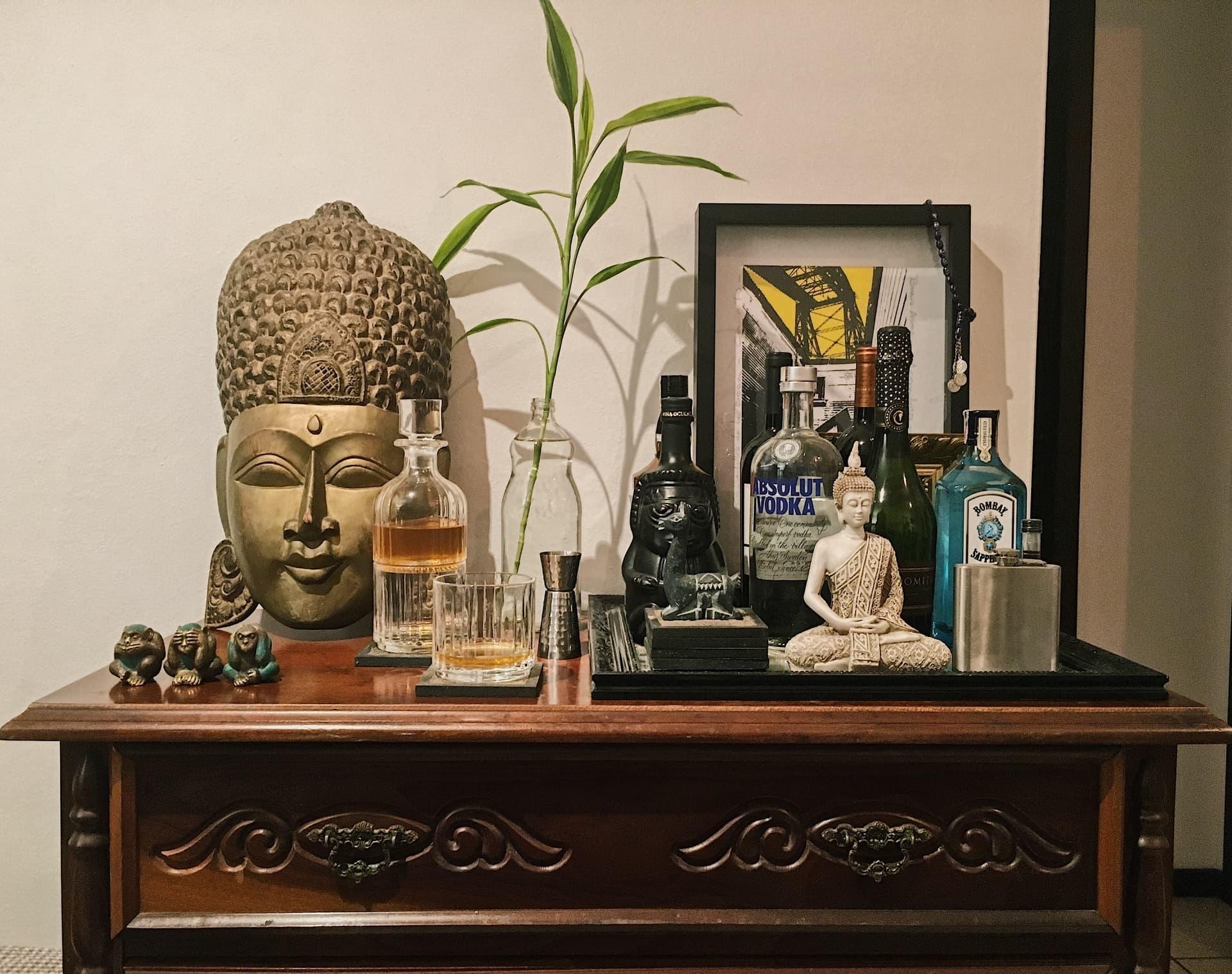 Imagem: Esse bar coleciona memórias pelo mundo. Conjunto Chicago, Biona. Foto: Arquiteca Porojetos.