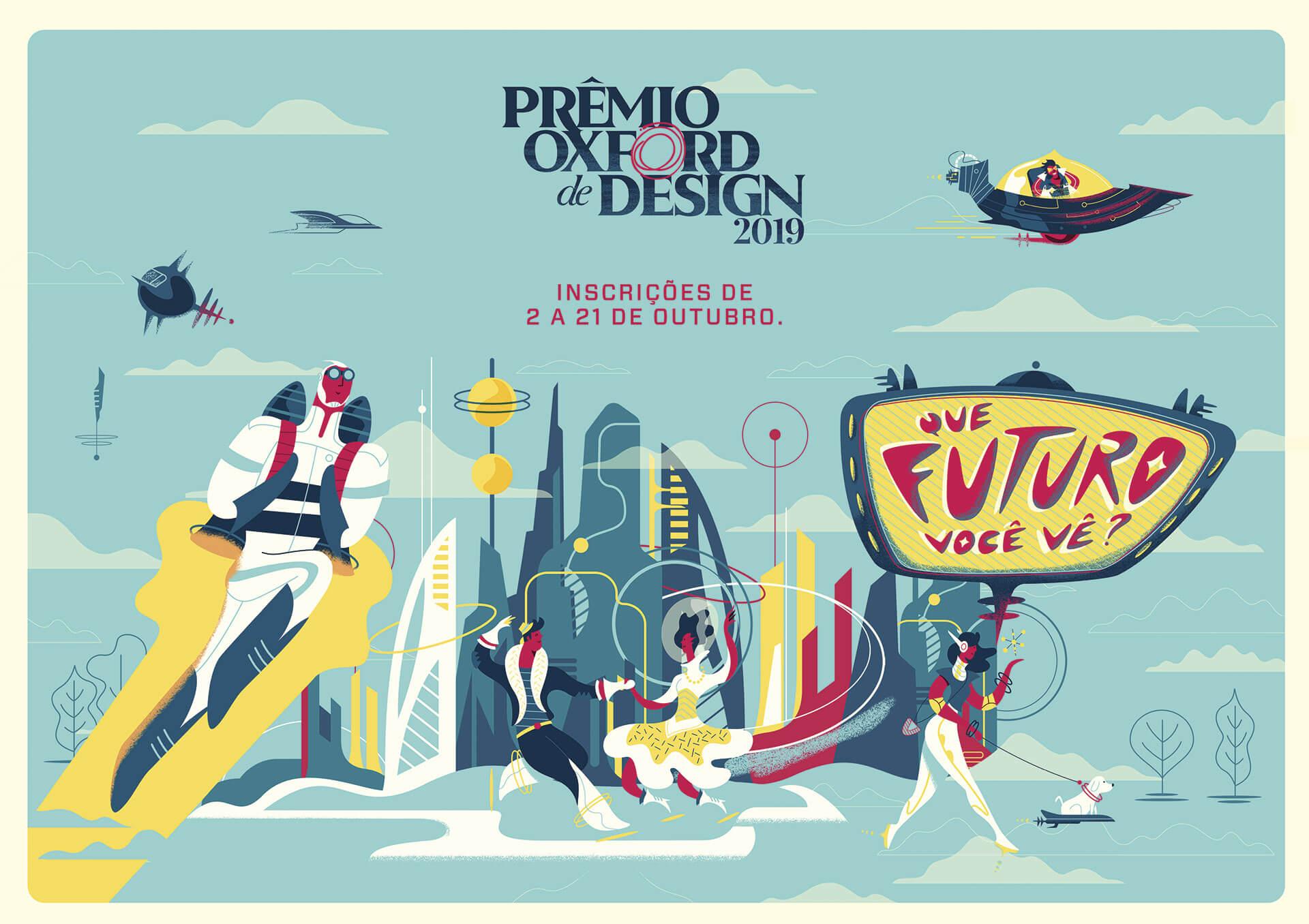 O Prêmio Oxford de Design 2019 pergunta aos participantes: Que futuro você vê?