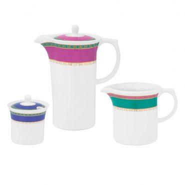 Conjunto de Café Flamingo Joia Brasileira
