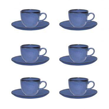 Conjunto Xícara de Café Ryo Santorini