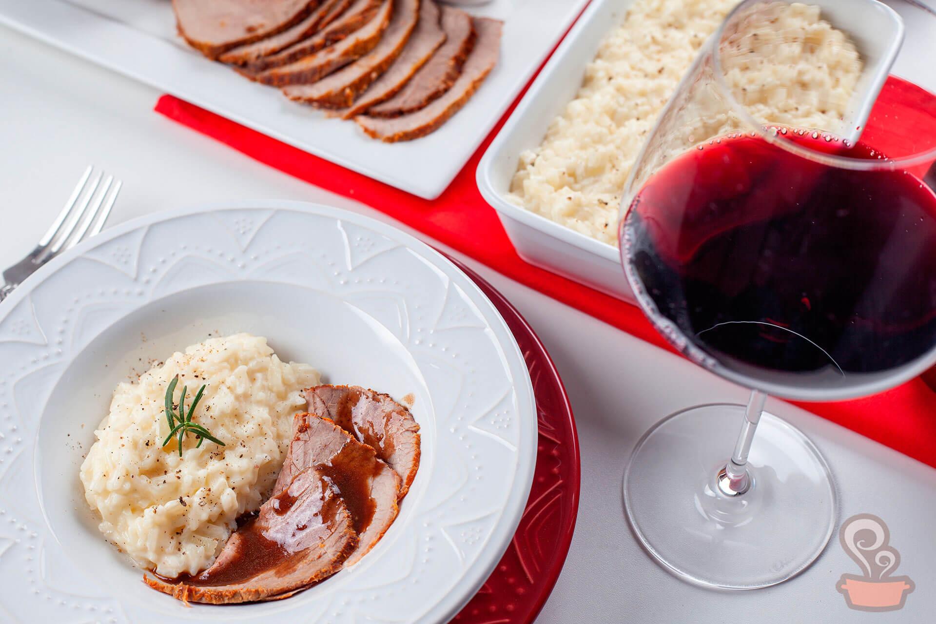 Imagem: Harmonize com um vinho tinto e bom apetite! Foto: Na Minha Panela