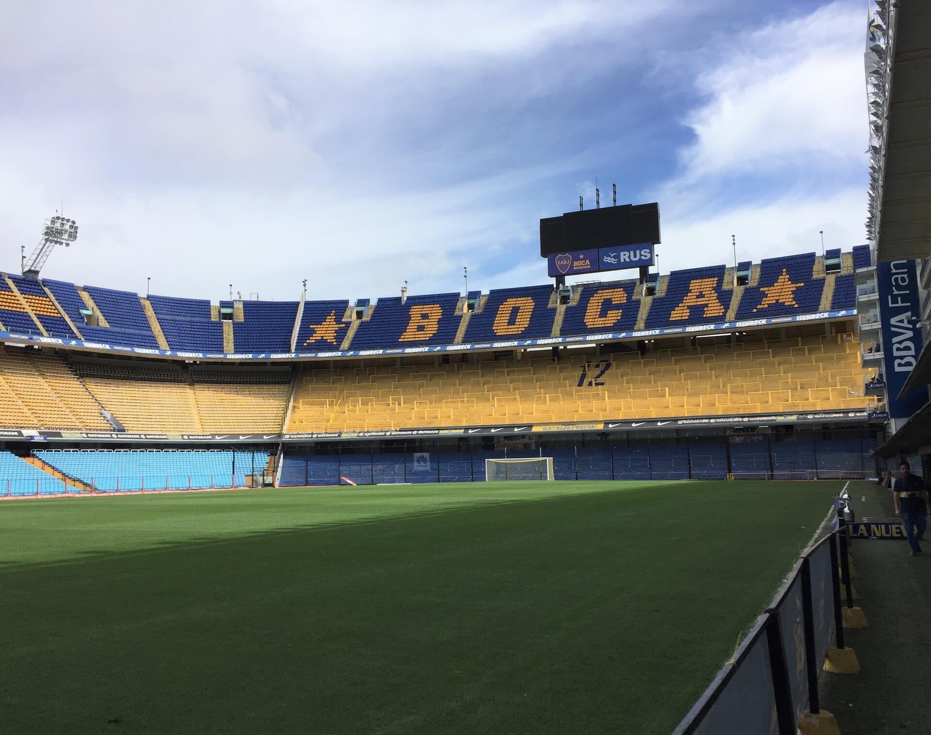 Esta é uma atração para quem realmente ama futebol e quer ter a sensação de estar entrando em campo em um dos estádios mais emblemáticos da América Latina. Foto: Fabíola Cordeiro.