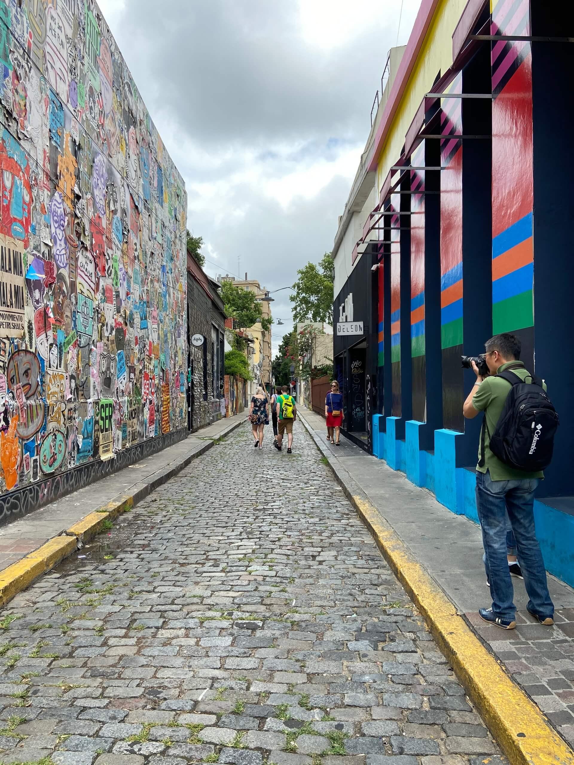 Palermo Soho é um dos bairros mais jovens e movimentados de Buenos aires.