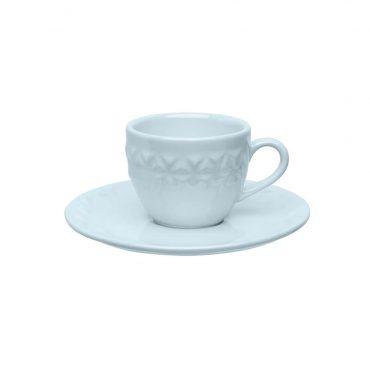 Xícara de Café com Pires Mia Cristal - Oxford