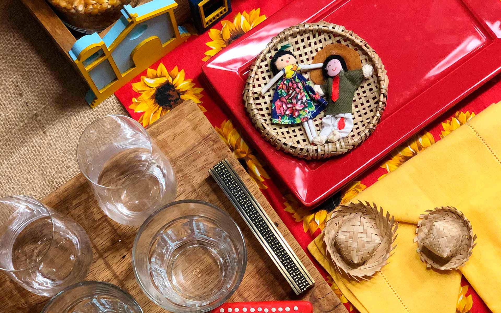Texto: Detalhes que encantam e resgatam a tradição das festas juninas. Foto: Isabela Azevedo.